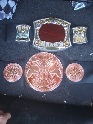 Wwe championship belts for Sale in North Las Vegas, NV