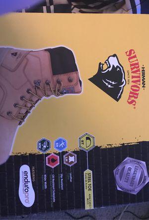 Herman work boots size 6 for Sale in Newport News, VA