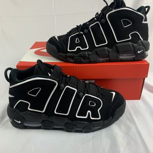 Nike Air More Uptempo 'Black White' for Sale in Westminster, CA