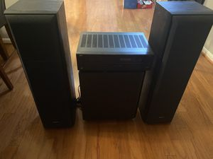 Audio Receiver + Power Speaker + Sub woofer for Sale in Washington, DC