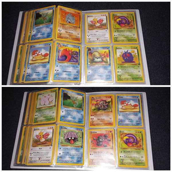 Pokemon Cards Vintage Binder Collection For Sale In