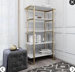 CosmoLiving Camila 5 Shelf bookcase for Sale in New York,  NY