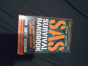 Survival handbook free with purchase for Sale in Hensley, AR