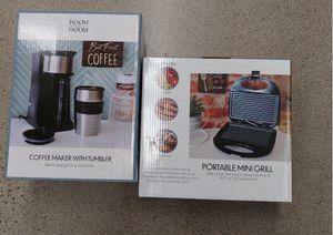 Coffee Maker & Mini Grill Indoor Kitchen for Sale in Phoenix, AZ