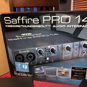 Focusrite Saffire Pro 14 8 In / 6 Out FireWire Audio Interface for Sale in Chandler, AZ