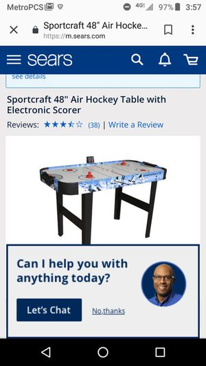 Air hockey table for Sale in Pawtucket, RI