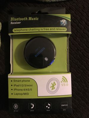 NFC Enabled Wireless Bluetooth V3.0 Stereo Music Audio Receiver for Car/Home for Sale in Bakersfield, CA