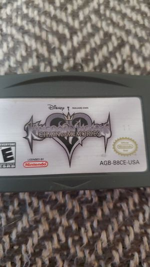 Kingdom Hearts: Chain of Memories GBA for Sale in Vancouver, WA
