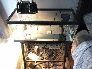 Turtle tank setup for SALE for Sale in Wesley Chapel, FL