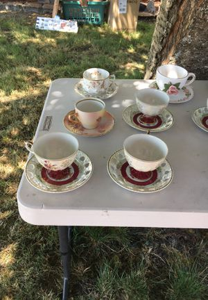 Bone China Tea Cups and Saucers for Sale in Joint Base Lewis-McChord, WA