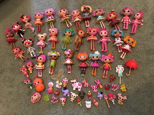Lalaloopsy lot! for Sale in Gaithersburg, MD