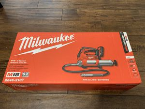 New Milwaukee grease gun for Sale in Fresno, CA