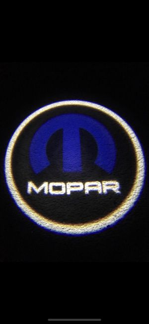 Mopar car door projector lights shadow lights auto on/off aaa batteries for Sale in Long Beach, CA