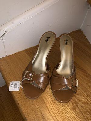 Brown Heel Open Toe for Sale in Boston, MA
