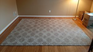 8x10 Wool Scroll Tile Tufted Rug for Sale in Land O Lakes, FL