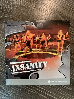 Insanity at home workout cds for Sale in Durham, NC