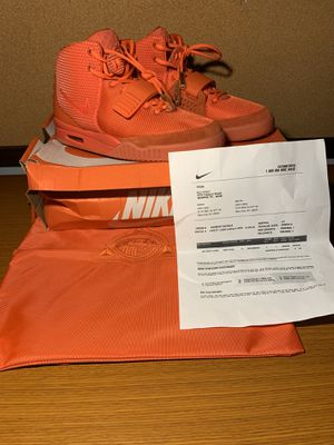 """NEW AUTHENTIC Nike Mens Air Yeezy 2 SP """"Red October"""" Red Size 11 for Sale in Miramar, FL"""
