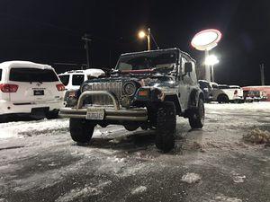 1997 Jeep Wrangler TJ 4WD for Sale in Woodinville, WA