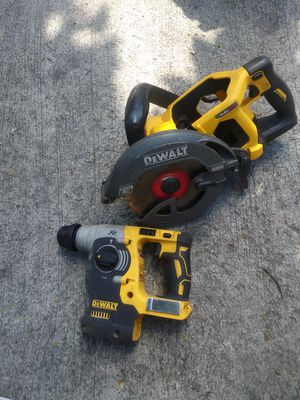 Dewalt roto hamer y skilsaw flexvolt for Sale in Sunnyvale, CA