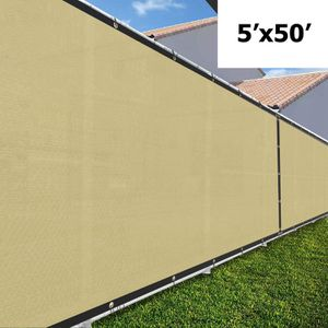 NEW 5'x50' Privacy Fence Wind Screen - BEIGE for Sale in Ontario, CA