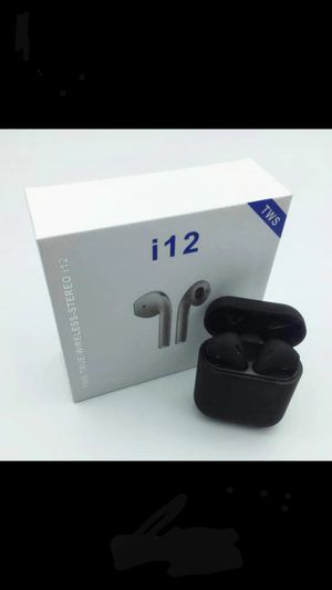 I12 True wireless earbuds (new) touch using siri for Sale in Denver, CO