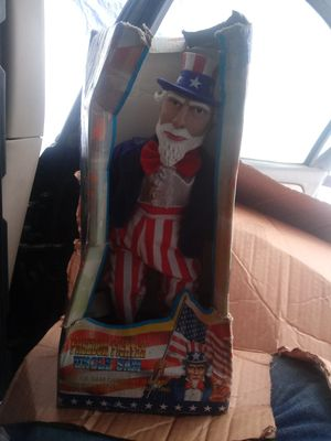 Old Freedom Fighter Uncle Sam Musical inbox for Sale in Modesto, CA