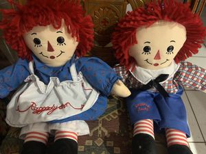 Authentic Raggedy Ann & Andy for Sale in St. Petersburg, FL