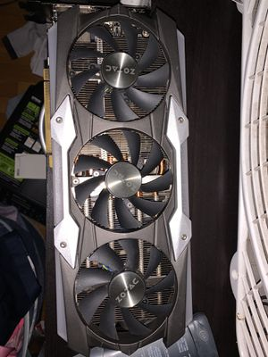 Zotac GTX 1080 ti AMP EXTREME for Sale in New Britain, CT