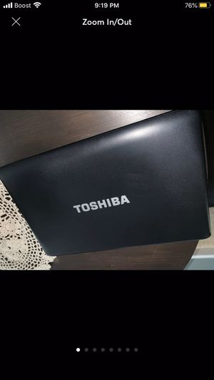 Toshiba satellite 500gb 4gb ram (touch screen) will trade for iPhone 8+ or newer for Sale in Pfafftown, NC