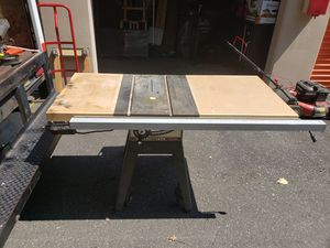 Craftsman 10 inch table saw for Sale in Port Orchard, WA