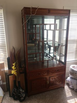 Antique Japanese Furniture - China Cabinet for Sale in Smyrna, GA