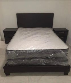 BEDROOM SET 5- Pcs ALL NEW JUEGO DE HABITACION TODO NUEVO CAMA for Sale in Miramar, FL
