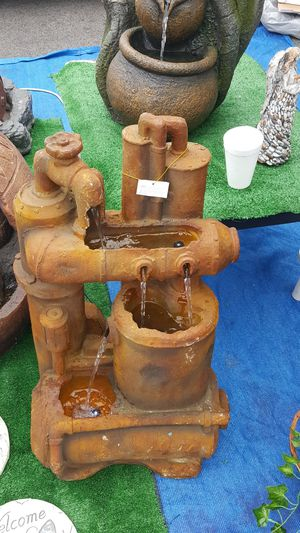 Rusty machinery water fountain for Sale in Bell, CA