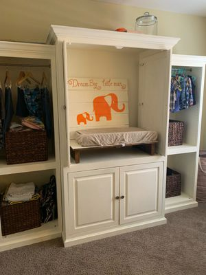 Baby Changing Station - Entertainment Center for Sale in Irving, TX