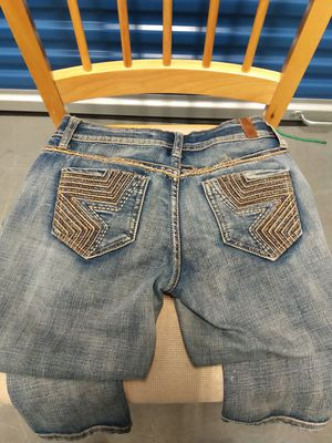 "Peoples liberation size 25, 26""x31"". Blue jeans for Sale in Takoma Park, MD"