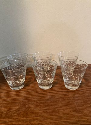 Antique full set of shot glasses for Sale in Chula Vista, CA