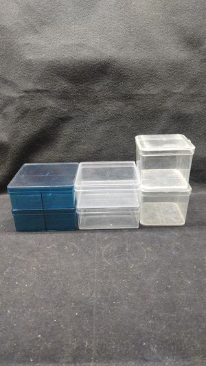 Set of 6 Plastic Storage Containers/ Organizers for Sale in Long Beach, CA