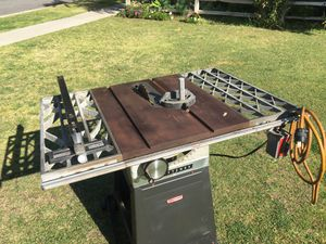 Heavy duty vintage craftsman table saw for Sale in Garden Grove, CA