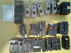 Electric Circuit Breakers - min $2 / max $20 each for Sale in Boca Raton, FL