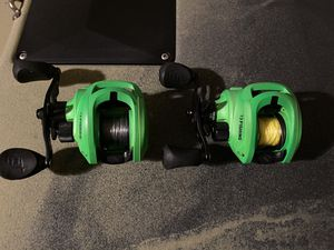13 fishing inception SZ 7:3:1 left hand reels for Sale in Mesa, AZ