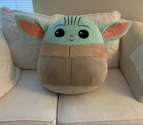 """Giant 20"""" Baby Yoda Squishmallow for Sale in Seattle,  WA"""