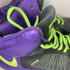 Nike Fly wire High Hi Tops Purple And Neon Yellow for Sale in Chandler, AZ