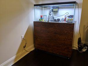 40 Gallon Breeder Fish Tank (all equipment included) for Sale in Arlington, VA
