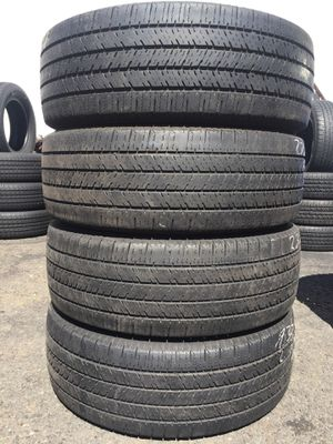 235/65/16 C Firestone set of used tires in great condition 65% tread 185$ for 4 . Installation balance and alignment available. Road force balance a for Sale in Union, NJ