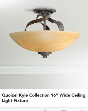 """16"""" Ceiling Light Fixture - like new for Sale in Cumberland, RI"""