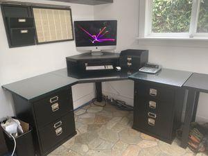Pottery barn corner desk and regular desk to match for Sale in Oceanside, CA
