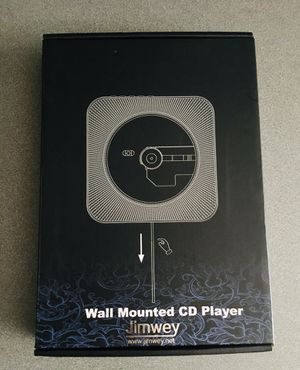 Jimwey wall mounted cd player for Sale in San Diego, CA