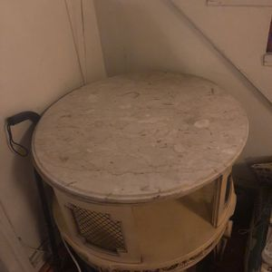 Antique Marble Top Table for Sale in Philadelphia, PA