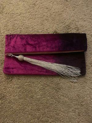 Steve Madden pink purple clutch bag for Sale in Las Vegas, NV