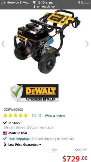 Dewalt 3400 psi new for Sale in Allentown, PA